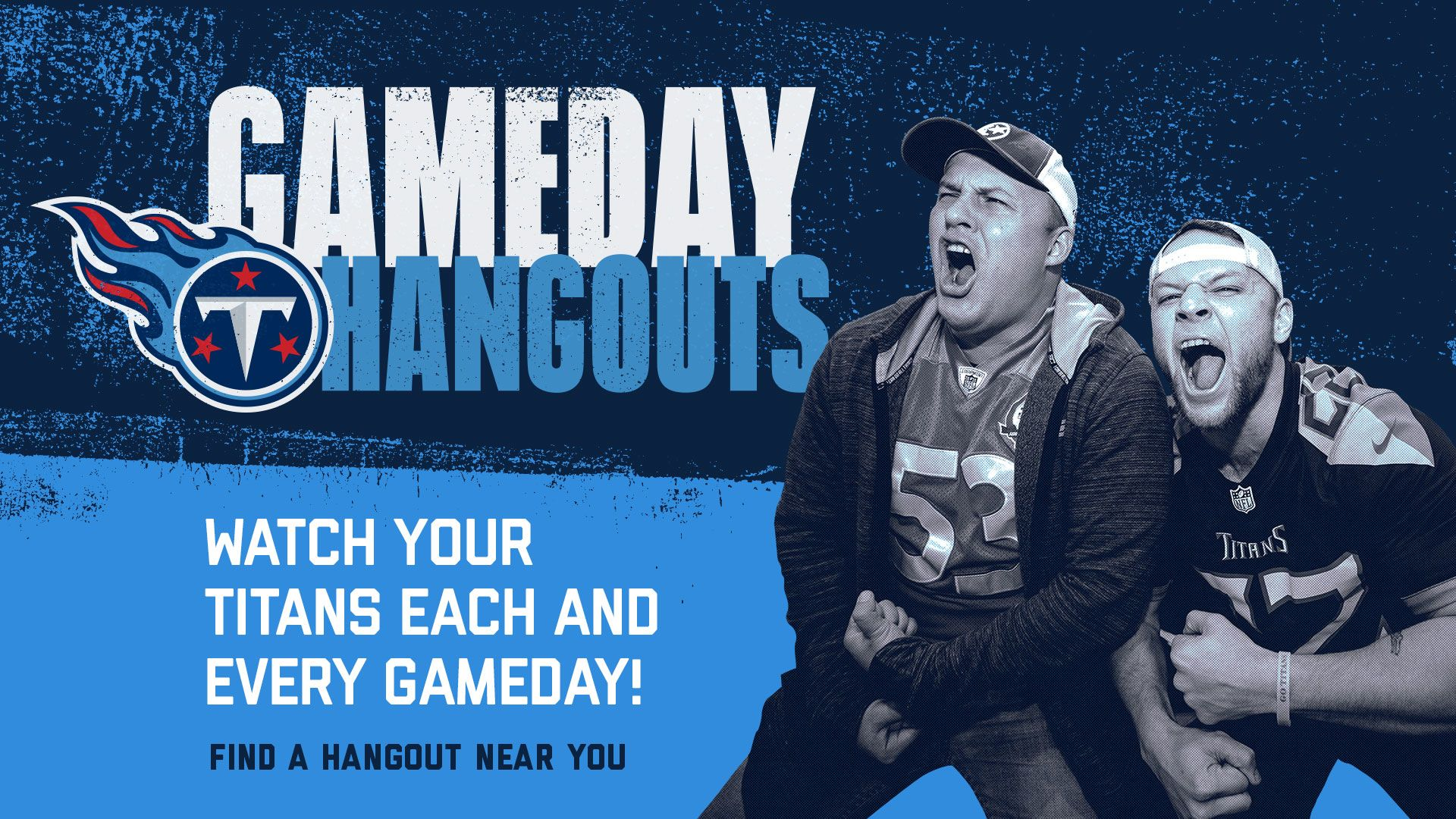 Want to watch the Titans game with other Titans fans?