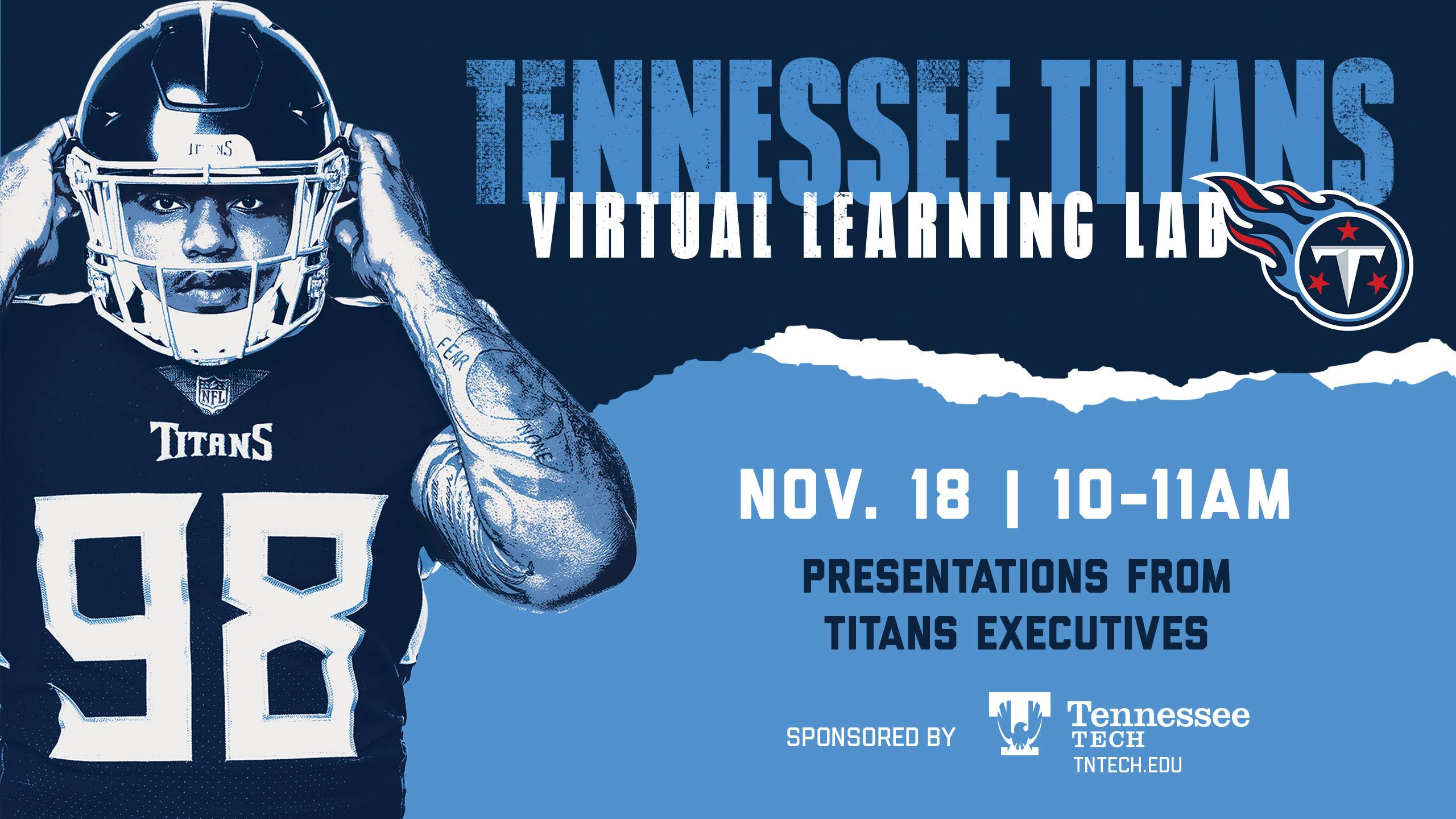 2020 Tennessee Titans Virtual Learning Lab presented by Tennessee Tech University