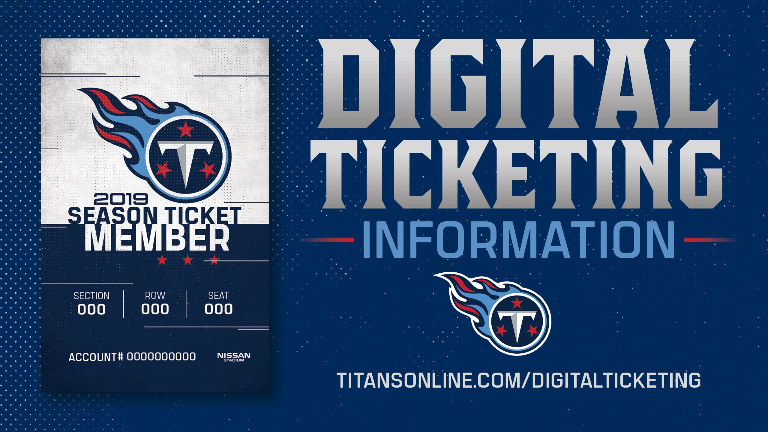 IMPORTANT INFORMATION ABOUT YOUR 2020 SEASON TICKETS