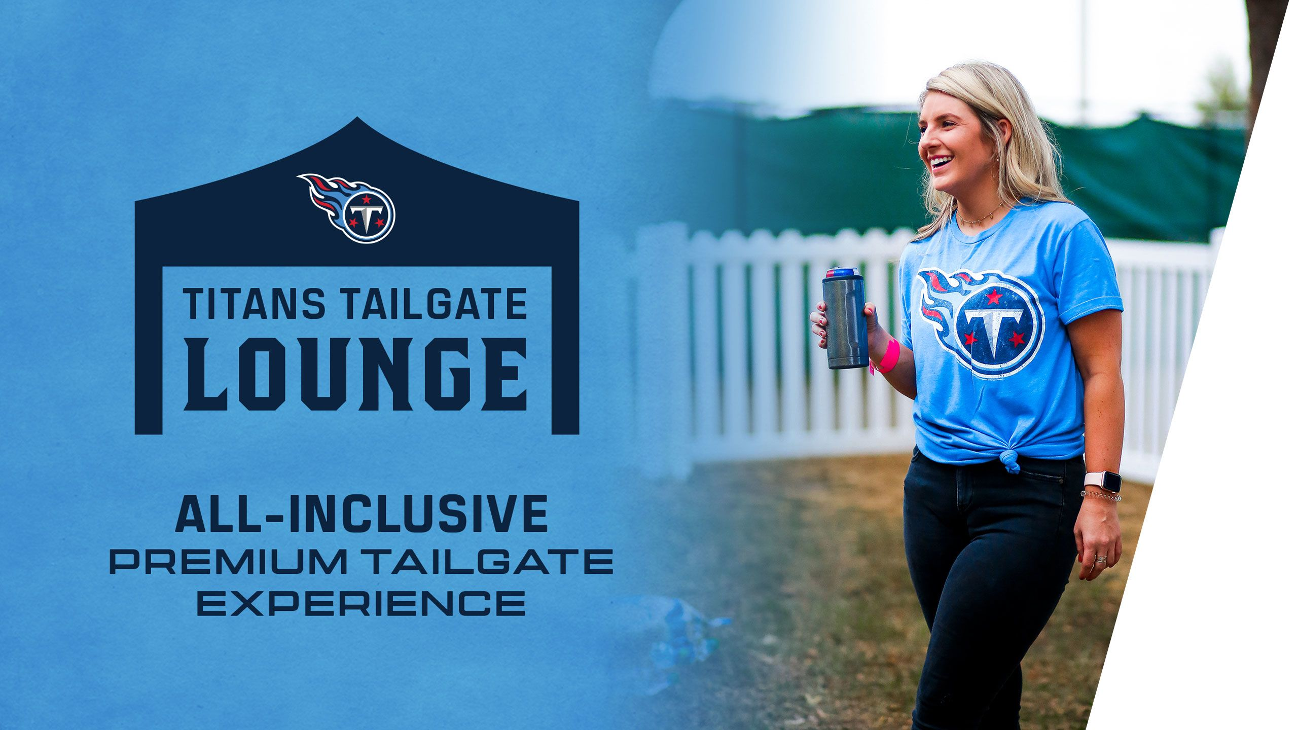 Buy Titans Tailgate Lounge Tickets
