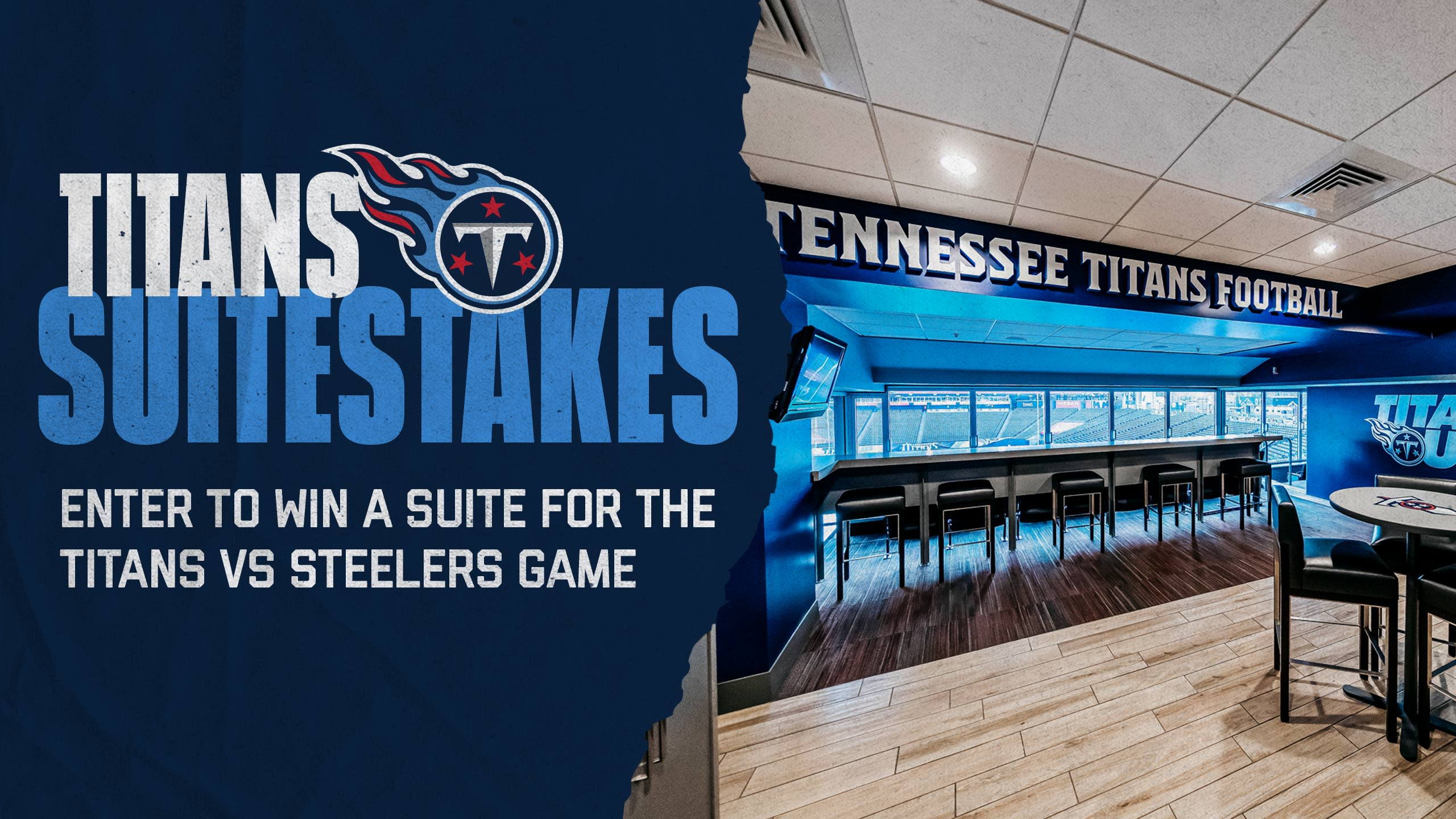Win a Suite for Titans vs Steelers!