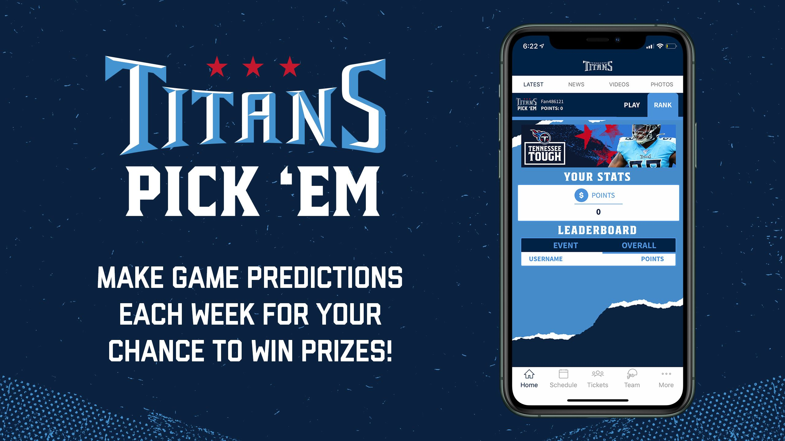 Titans Pick'Em