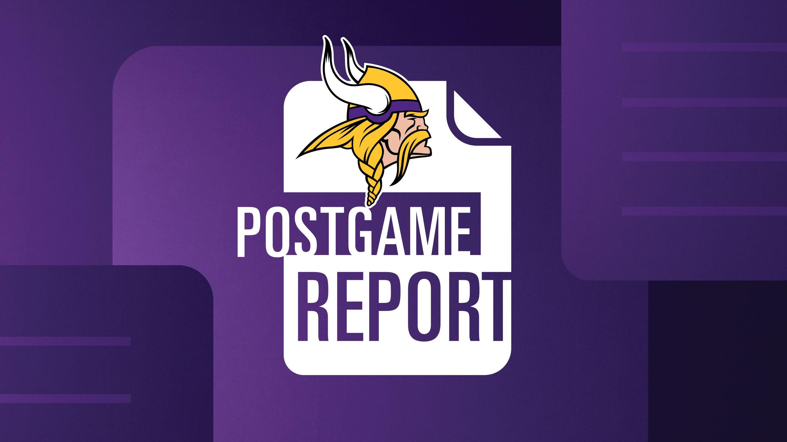 Postgame Report