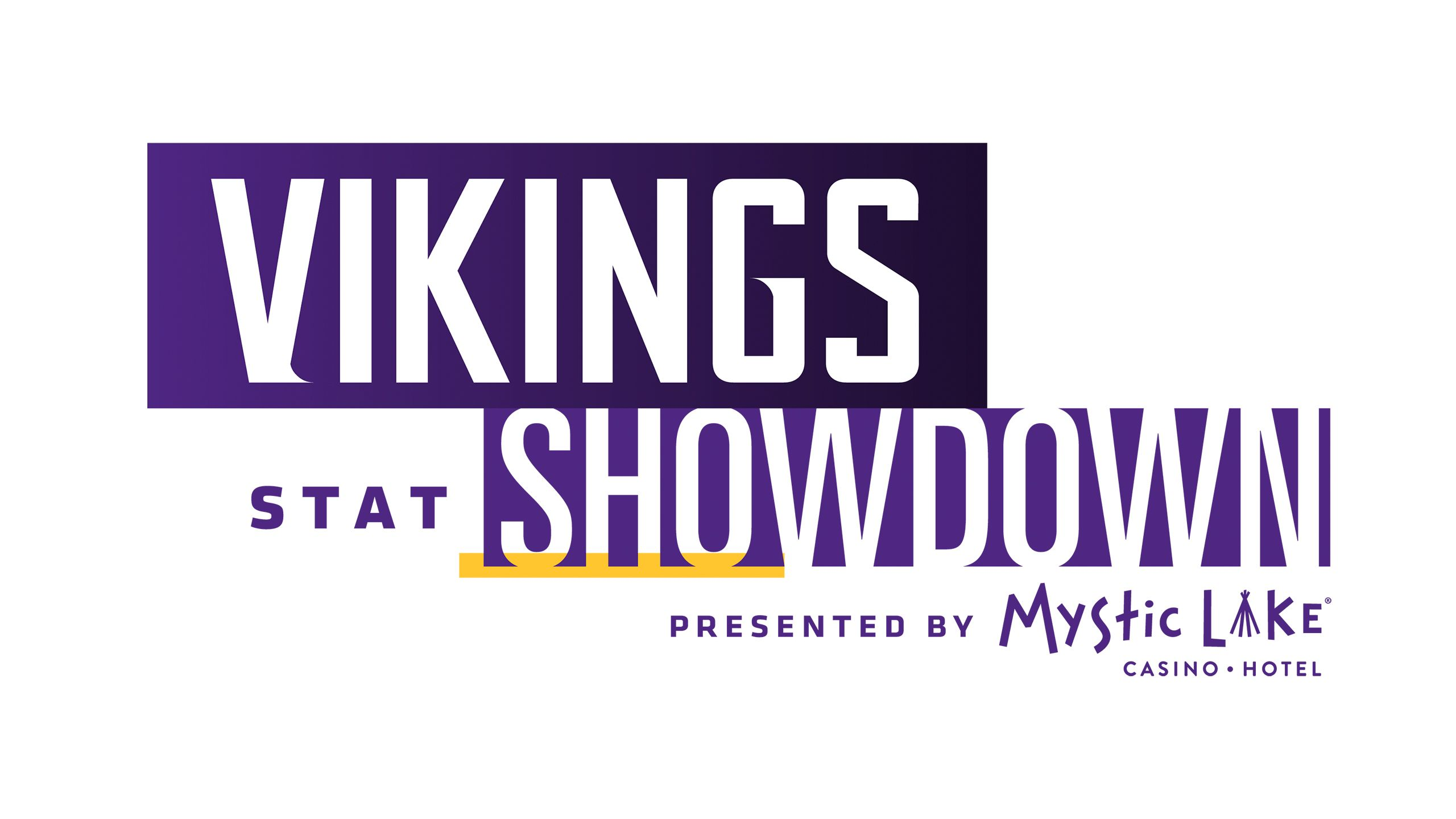 Vikings Stat Showdown Presented By Mystic Lake
