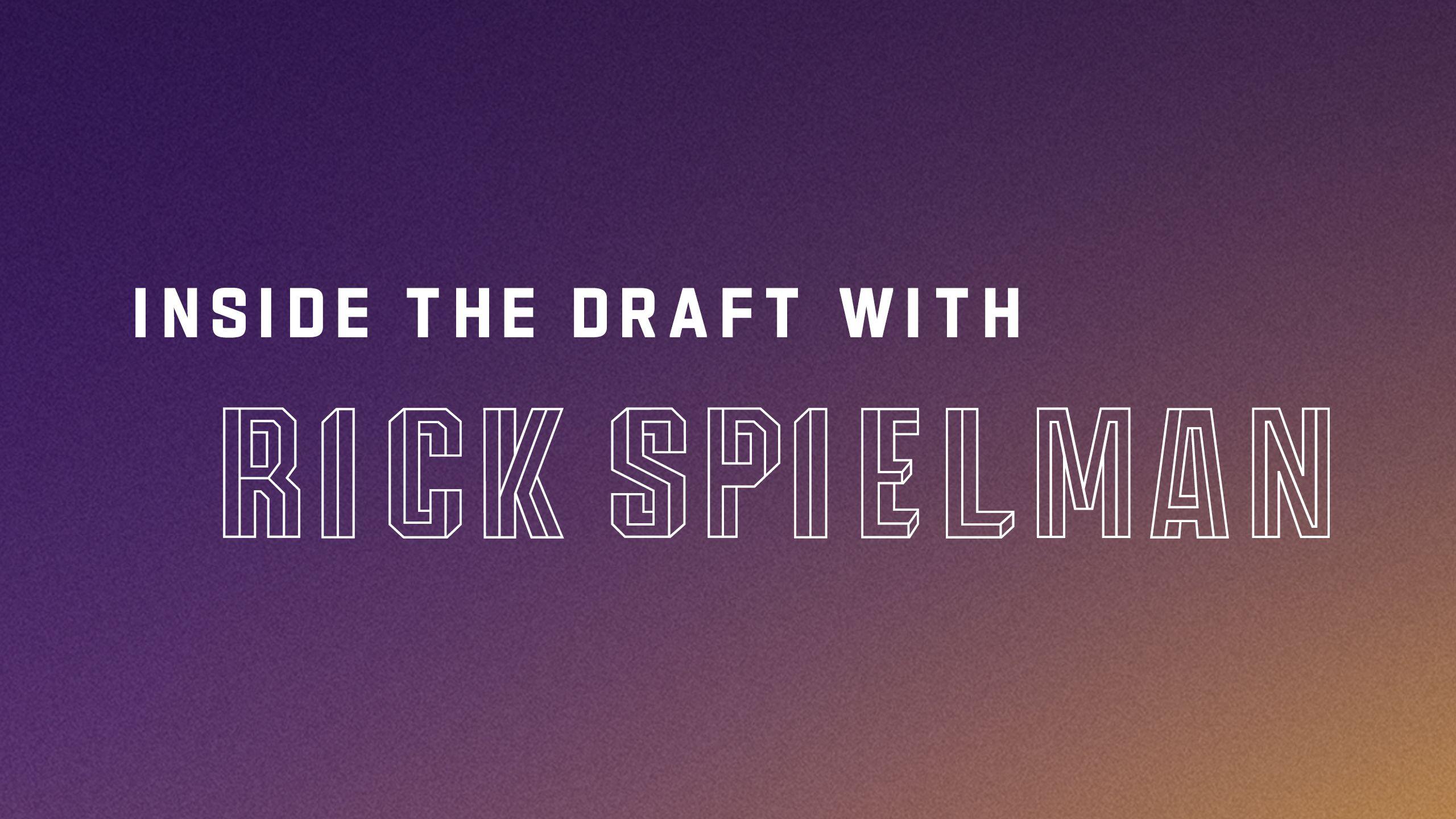 Inside the Draft with Rick Spielman