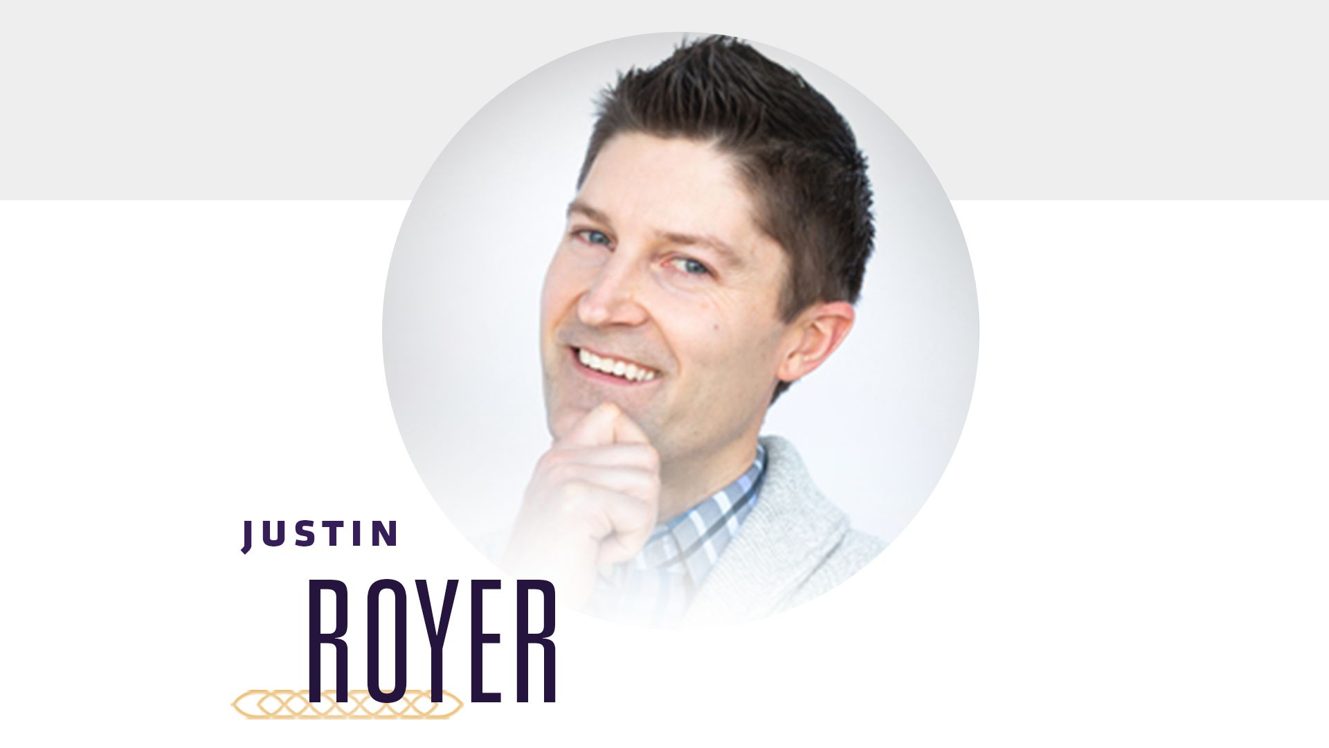Justin Royer, Research and Experience Designer, Sprocket
