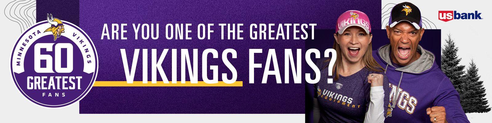 60 Greatest Vikings Fans