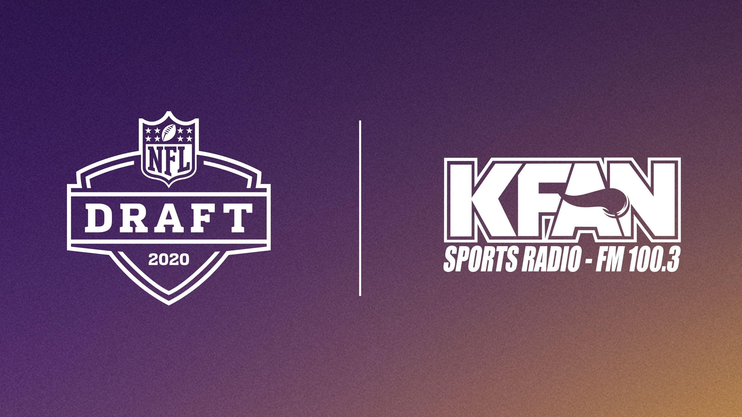 Vikings Draft Show on KFAN FM 100.3