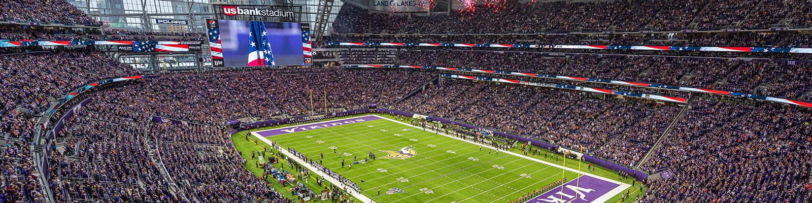 Download Minnesota Vikings background for you to use for video conferencing. Click the links below to download the files.