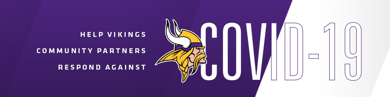 How to Help Vikings Community Partners Respond Against COVID-19