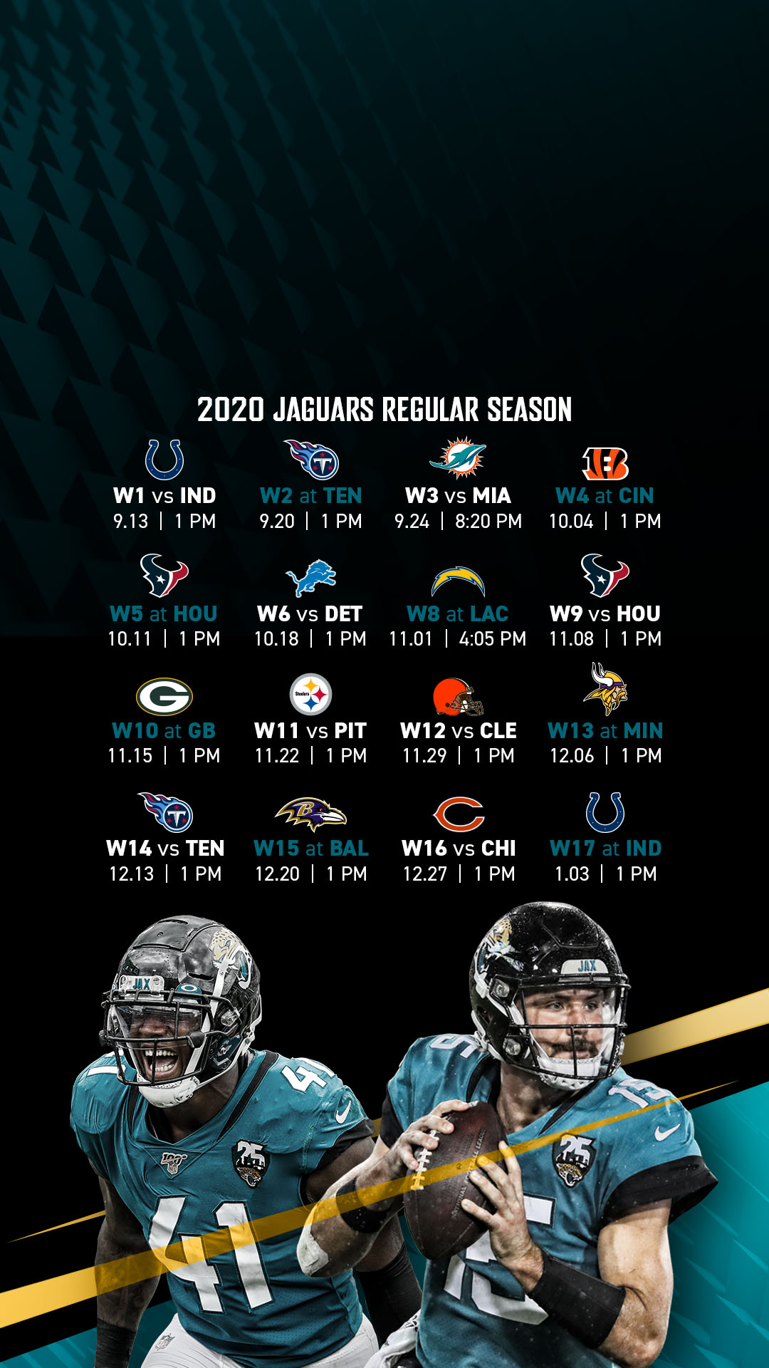 Jacksonville Jaguars Official Site Of The Jacksonville Jaguars