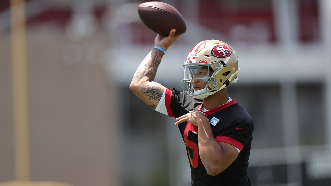 49ers Sign QB Trey Lance to a Four-Year Deal and Other Roster Moves