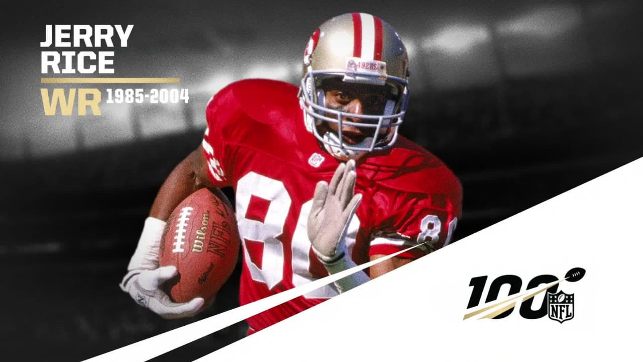 Nfl All Time Team Jerry Rice