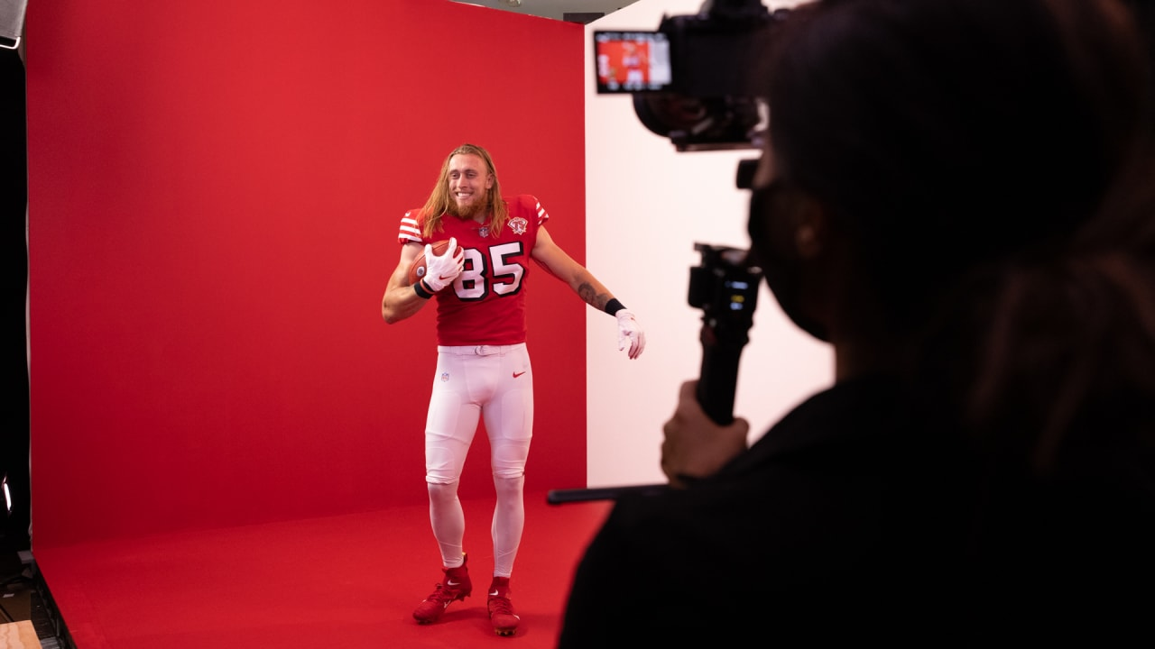Behind the Scenes of the '94 Red Throwbacks Photoshoot