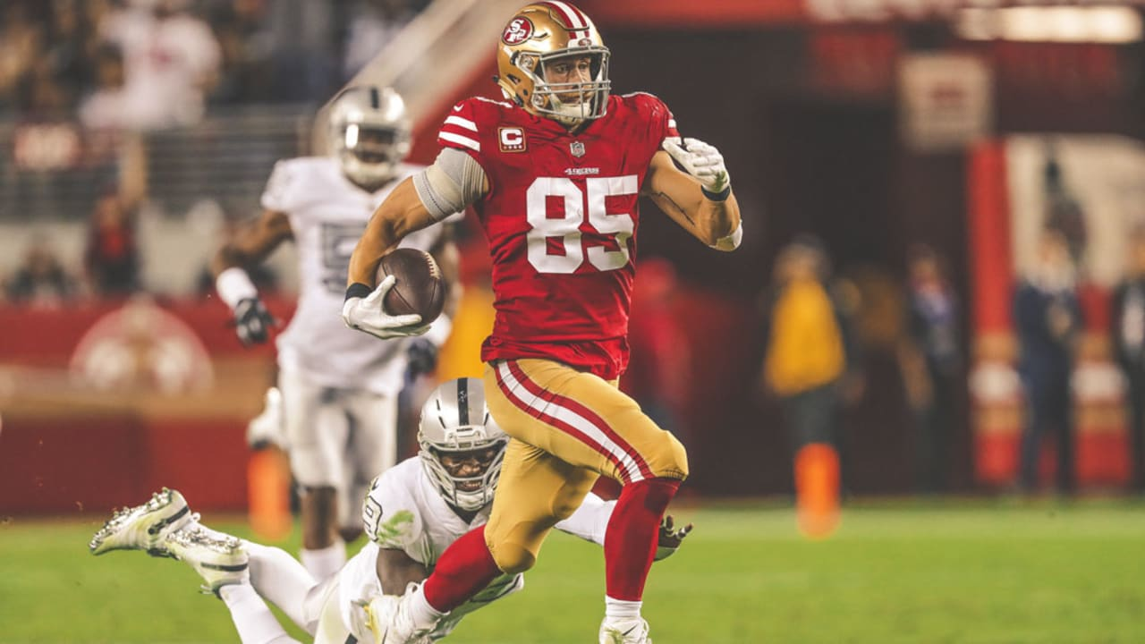 26adbb805 GMFB Breaks Down George Kittle s Defining Moments of 2018