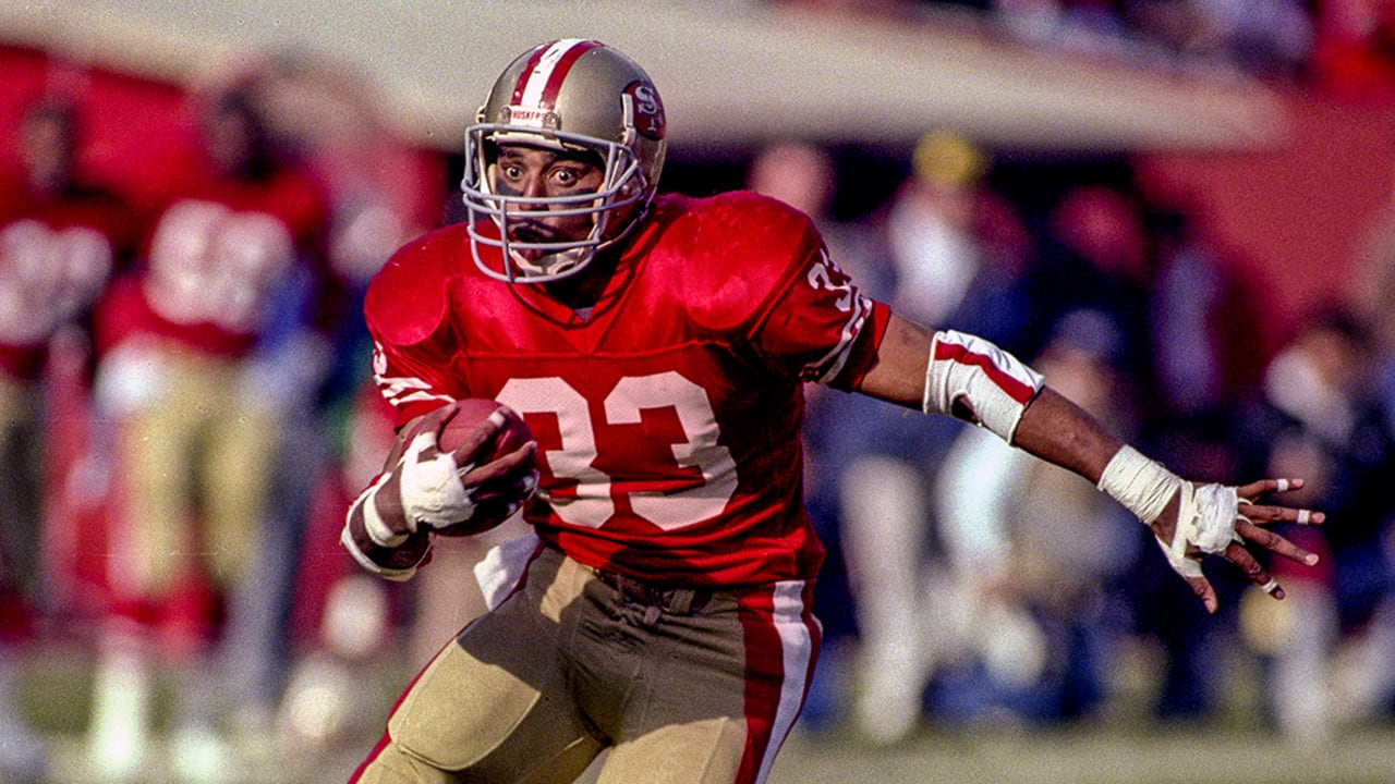 The First Player in NFL History to Have a 1,000/1,000 Season: 49ers RB Roger  Craig