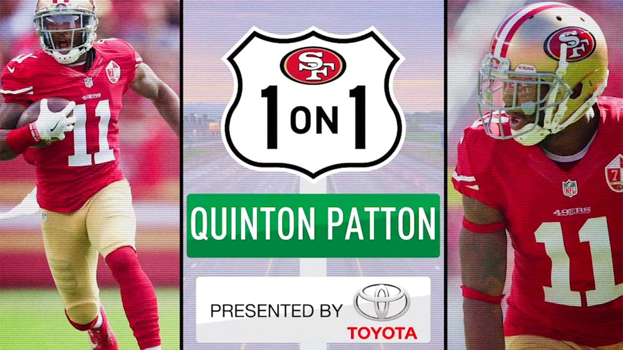 1-on-1: 49ers WR Quinton Patton
