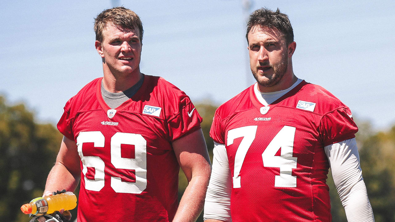 new arrival 6c11d 2257e Joe Staley Gives Ringing Endorsement of 49ers RT Mike McGlinchey