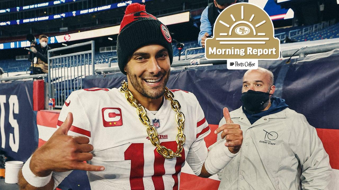 Morning Report: Recapping 49ers at Patriots Week 7 Matchup
