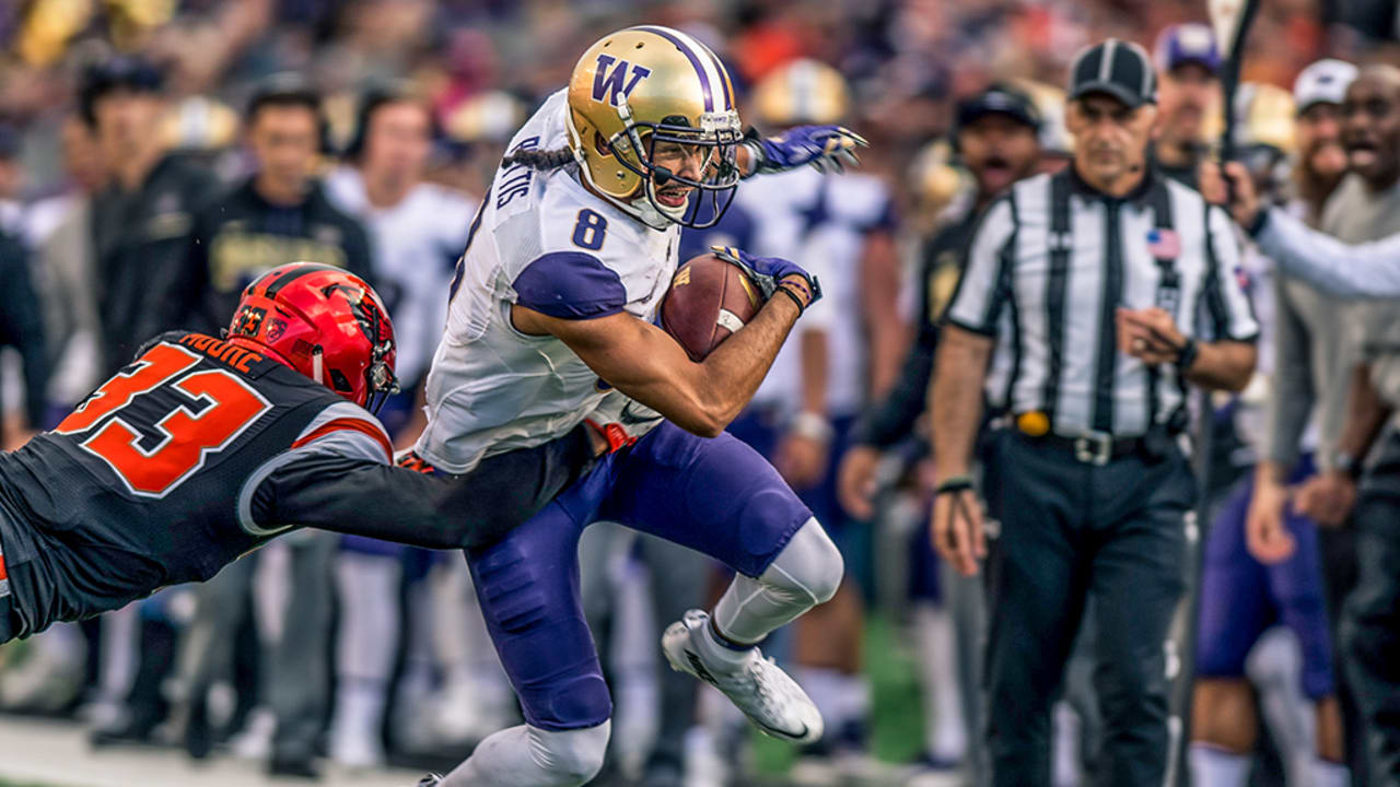 The 49ers Select Wr Dante Pettis No 44 In The 2018 Nfl Draft