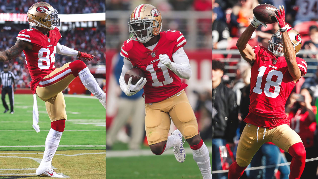 c00cda042c015 Kyle Shanahan Evaluates 49ers Current Crop of Wide Receivers