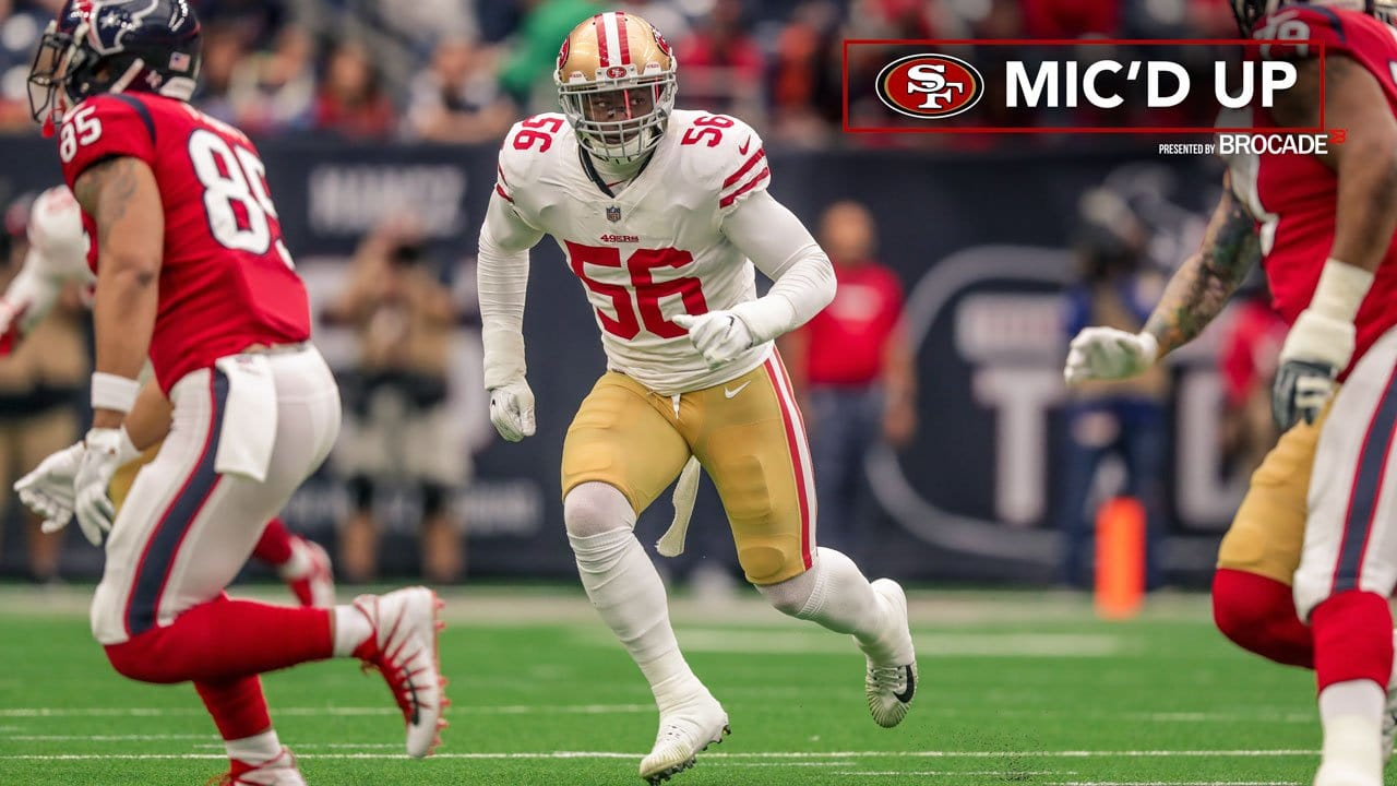 c38b9d07f Mic'd Up: Reuben Foster and Johnny Holland at Houston Texans