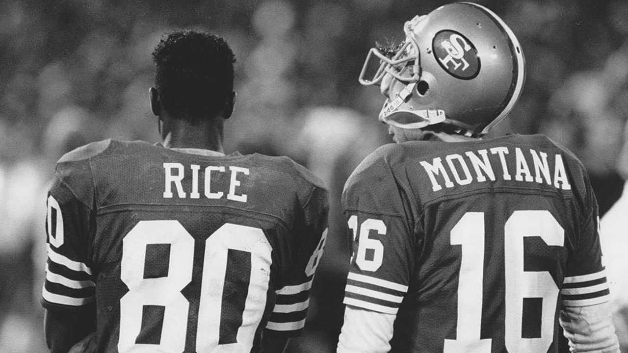 Joe Montana And Jerry Rice Named Top Qb