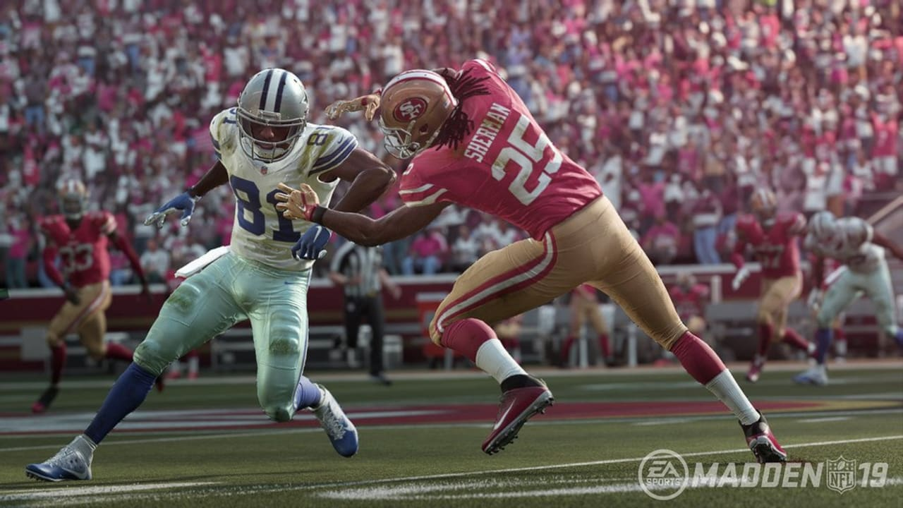 Counting Down the Top 10 49ers Players in Madden '19