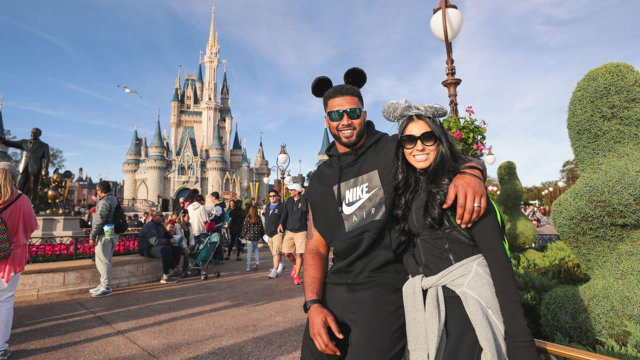 Photos: DeForest Buckner Visits Disney World