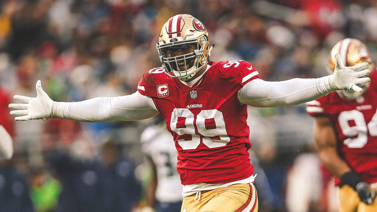 reputable site 94ab3 6b1b9 49ers Exercise Fifth-year Option on DL DeForest Buckner