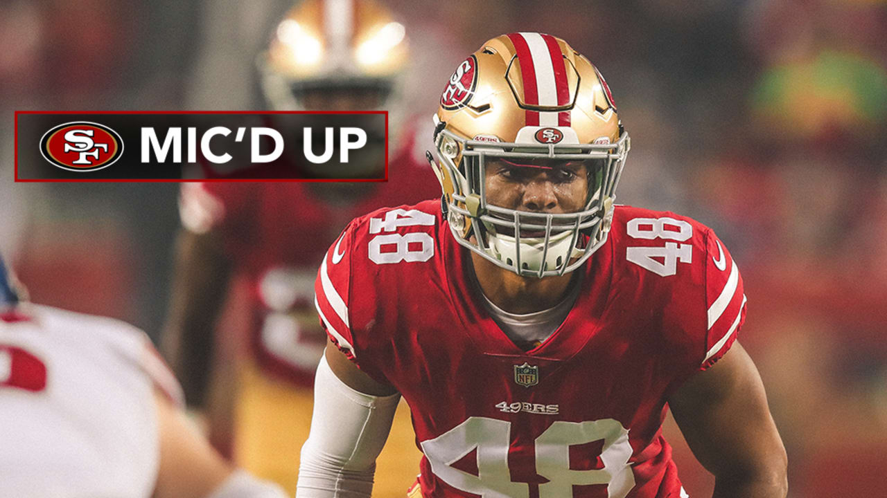 promo code ce903 17937 Mic'd Up: Fred Warner Wired for 'Monday Night Football'