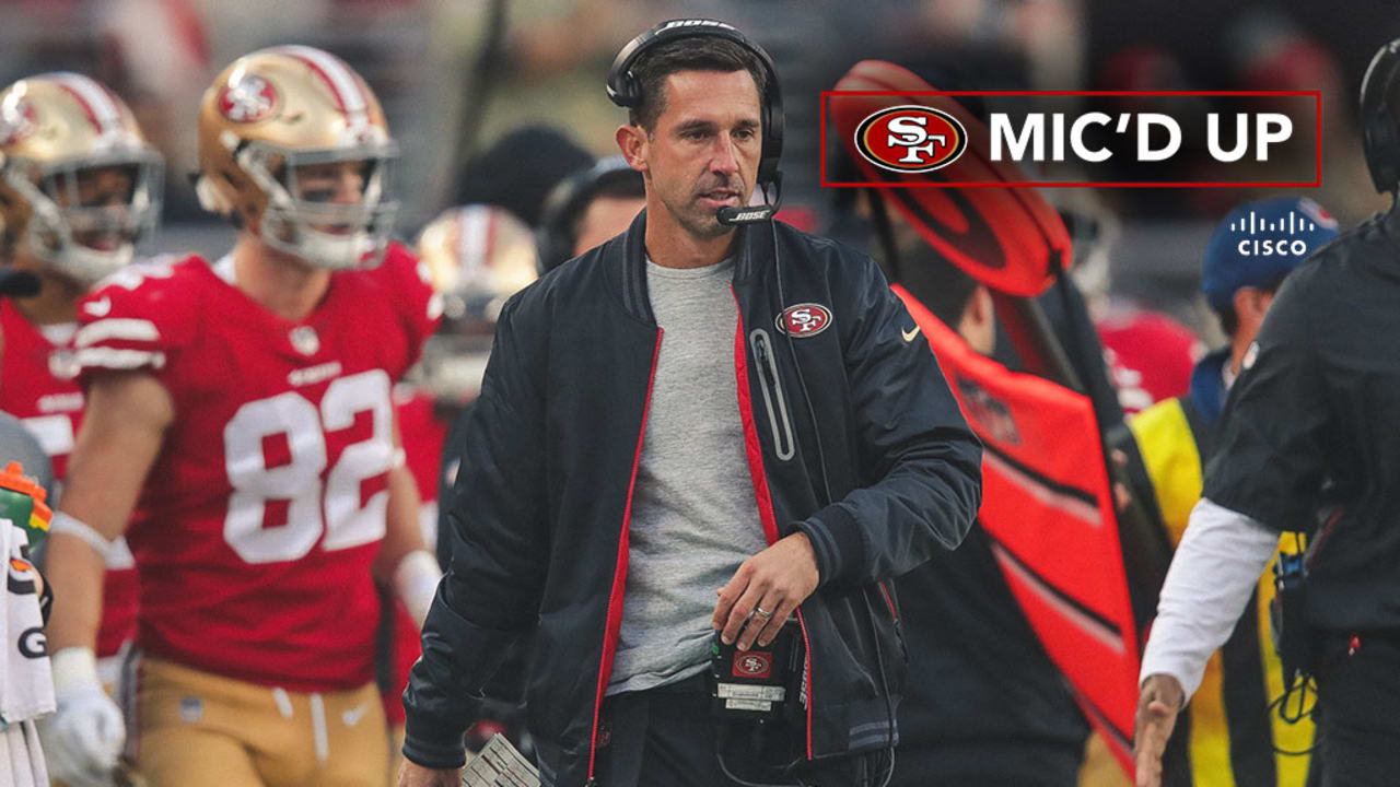 4bc8ab563e7 Mic d Up  Kyle Shanahan Wired for Sound in 49ers Win against the Broncos