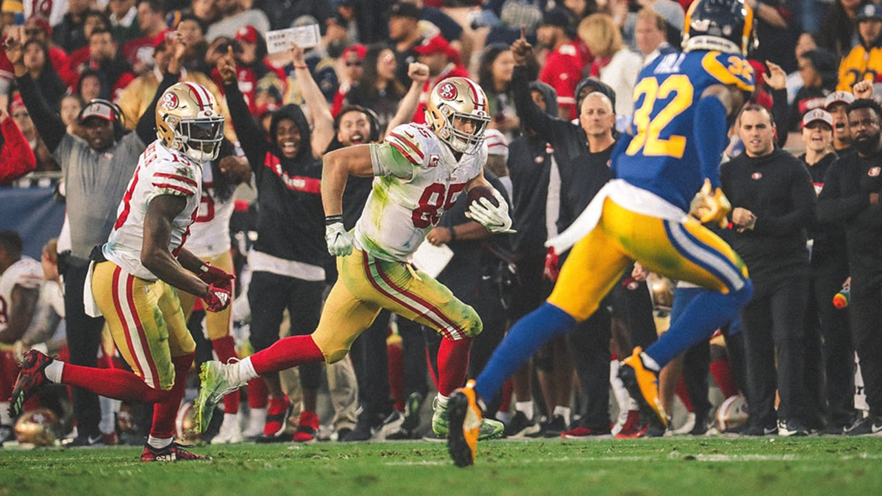 d4d98245 Best Plays from George Kittle's Record-setting Day