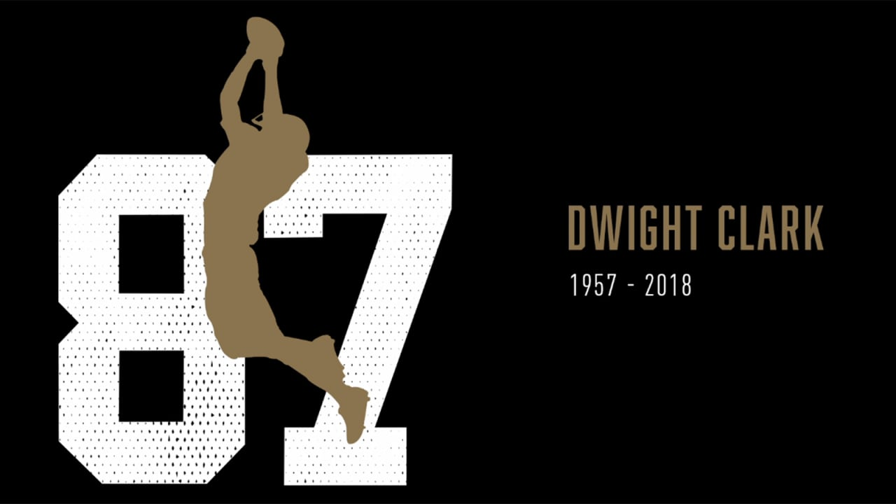 """61f5ca404 49ers Honor Dwight Clark and Unveil Season-long Plans to Commemorate the  Man that Made """"The Catch"""""""