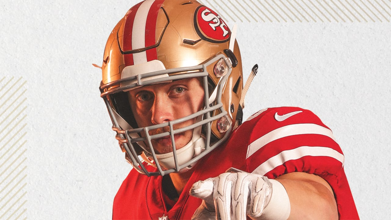 George Kittle The 49ers Star Tight End In The Making With A