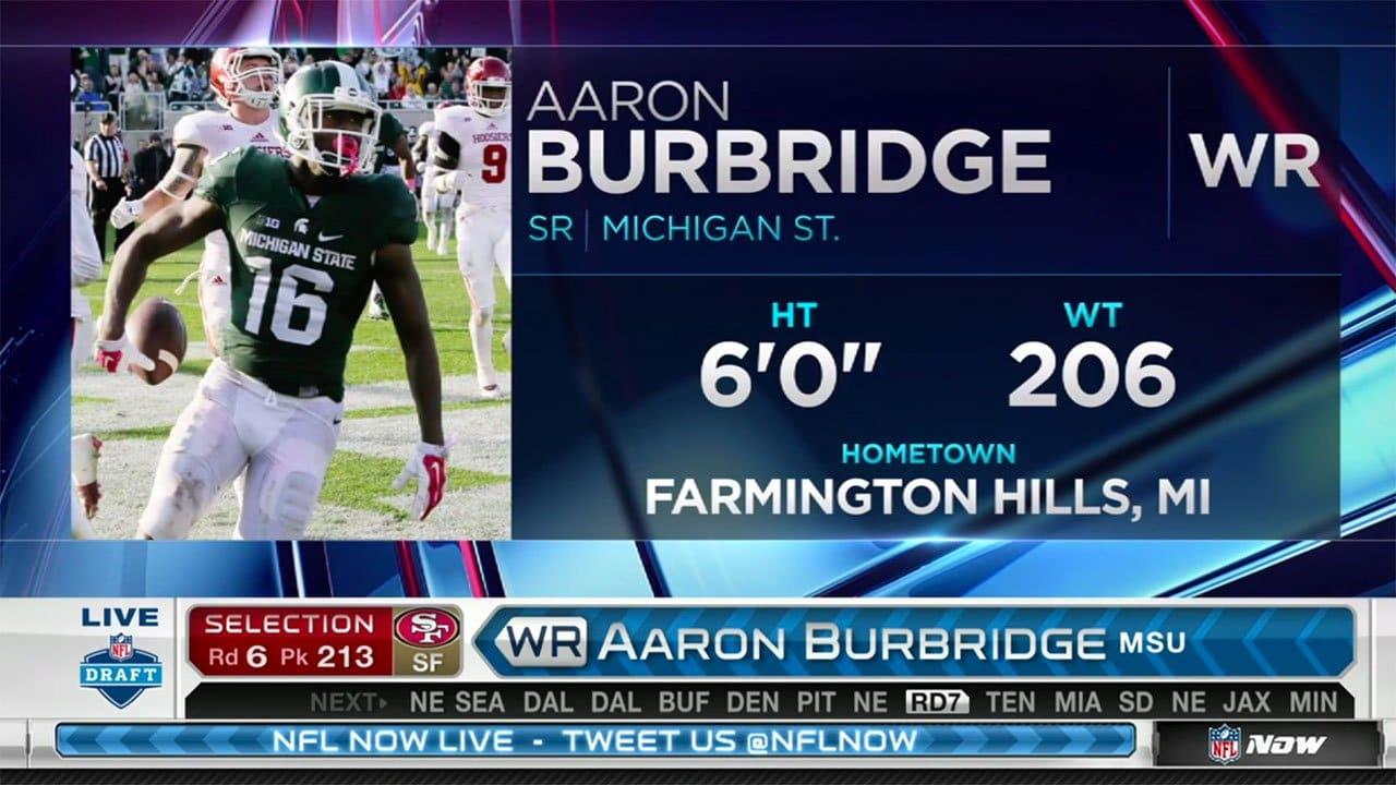 Aaron Burbridge 49ers