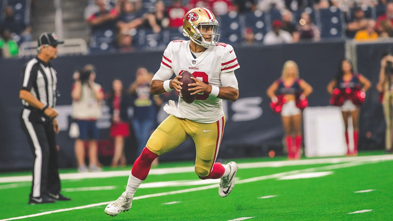 2a26d1a98 Every Pass from Jimmy Garoppolo vs. the Texans