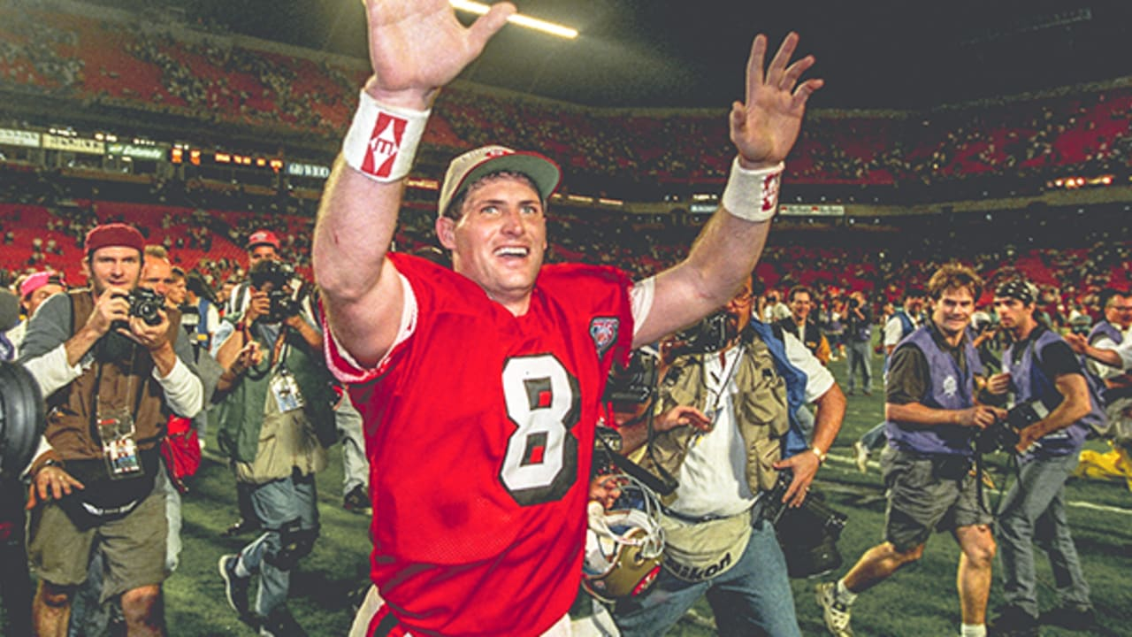 Jan  29, 1995: Steve Young Leads 49ers to Fifth Lombardi Trophy in