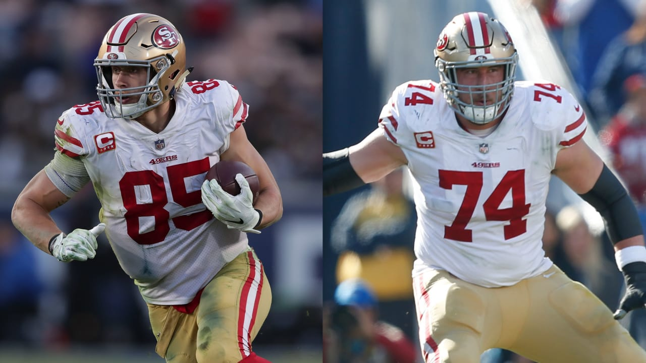 430abc5dc George Kittle and Joe Staley Land on Pro Football Focus List of Top 101  Players of 2018