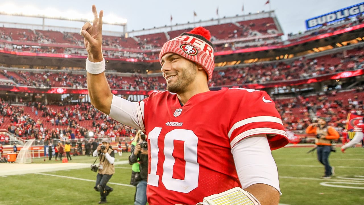 052433352f2 Business is Booming  Jimmy Garoppolo in Top 2 of NFL Jersey Sales