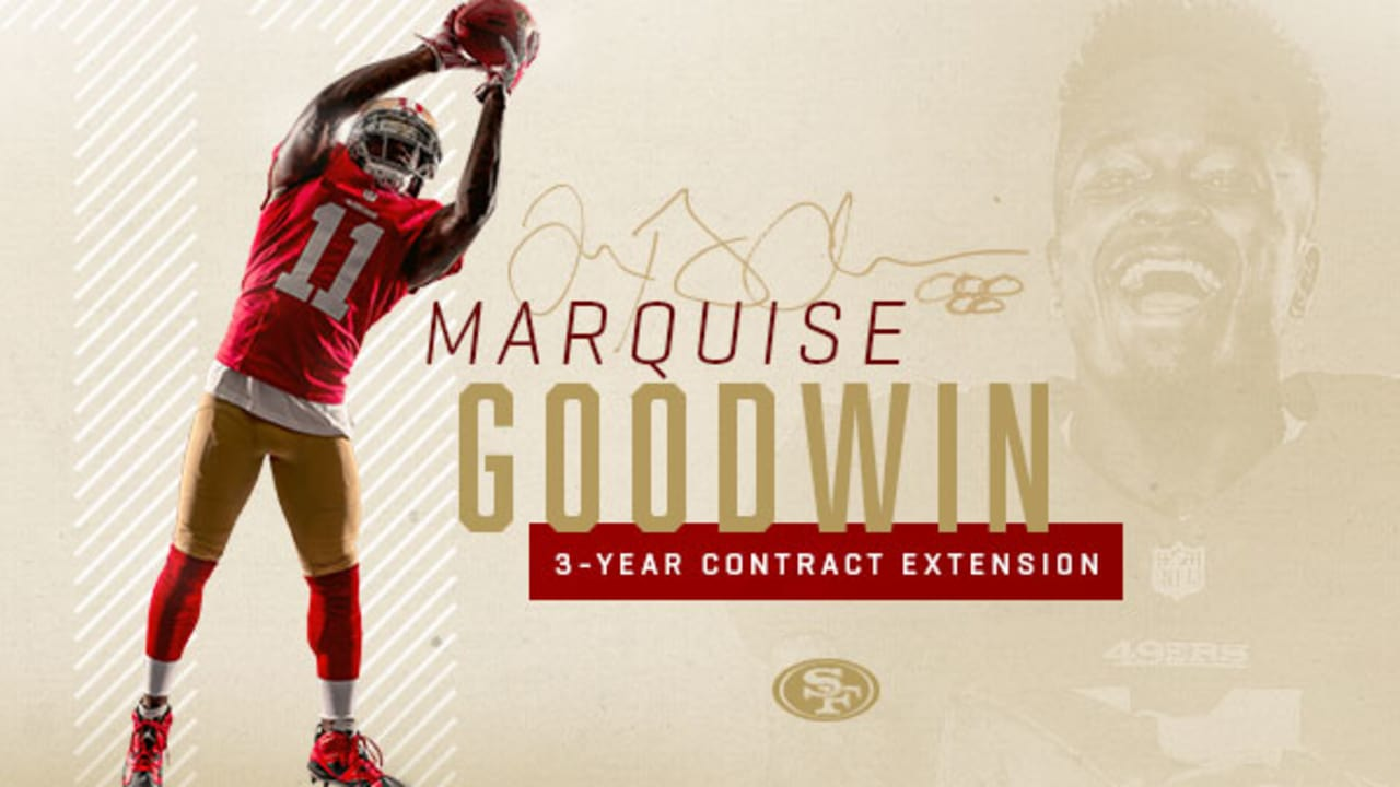 07c6b1212e6 49ers Sign WR Marquise Goodwin to a Three-year Extension