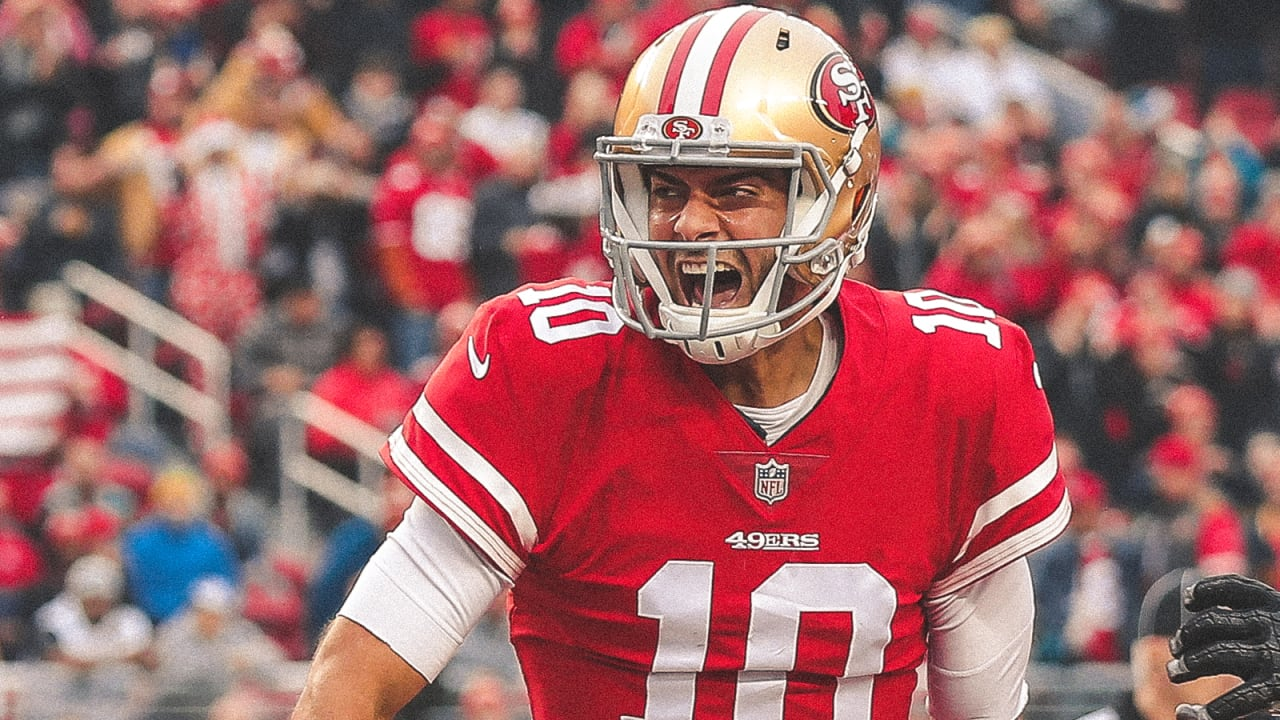 0d2a9e573 The Time Jimmy Garoppolo Called His Own Number against the Jaguars