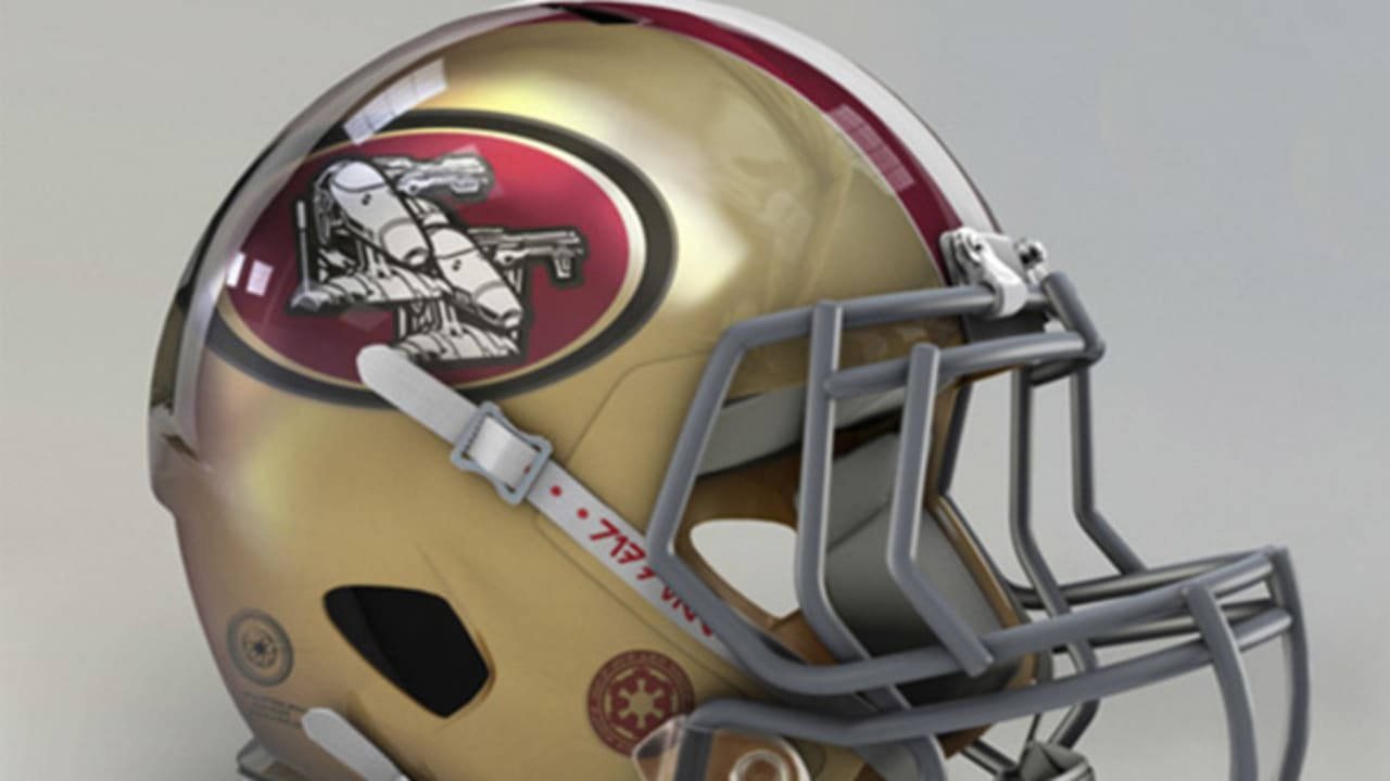 A Roundup Of San Francisco 49ers Concept Helmets