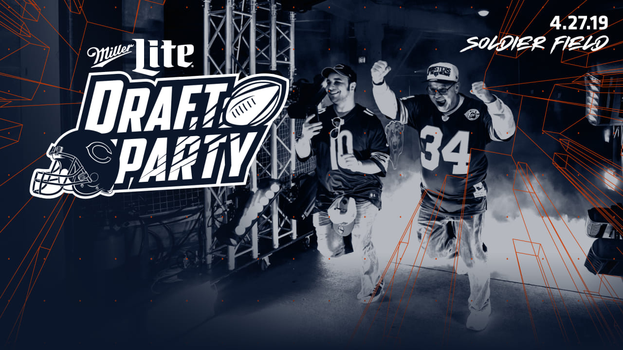 Bears Draft Party tickets on sale Thursday  for cheap
