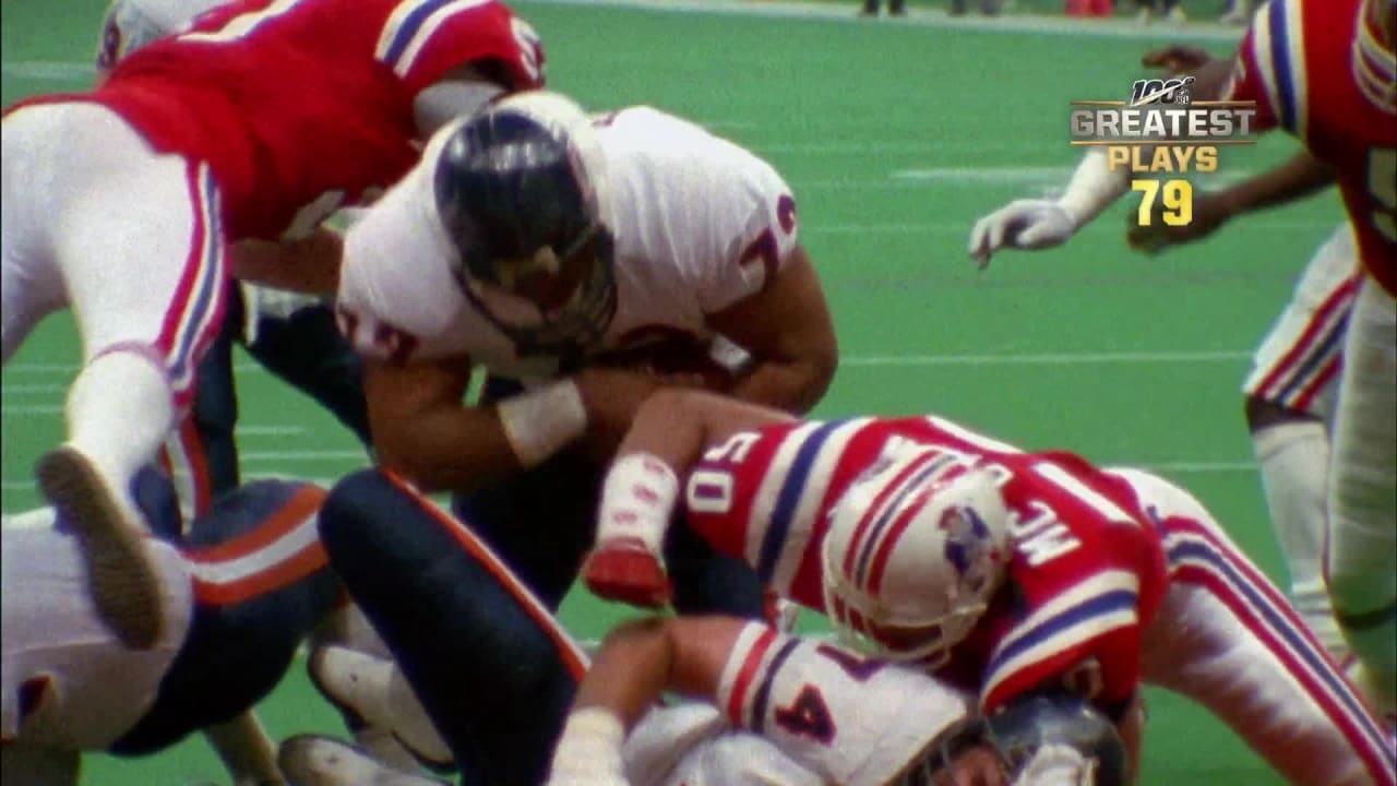 the latest dfb78 bd581 NFL 100 greatest - #79: A Super Bowl XX TD by 'The Fridge'