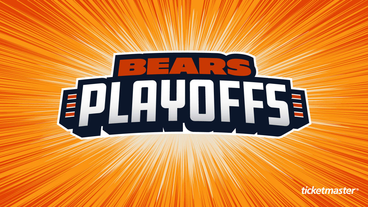 0ef81557 Bears playoff tickets on sale NOW
