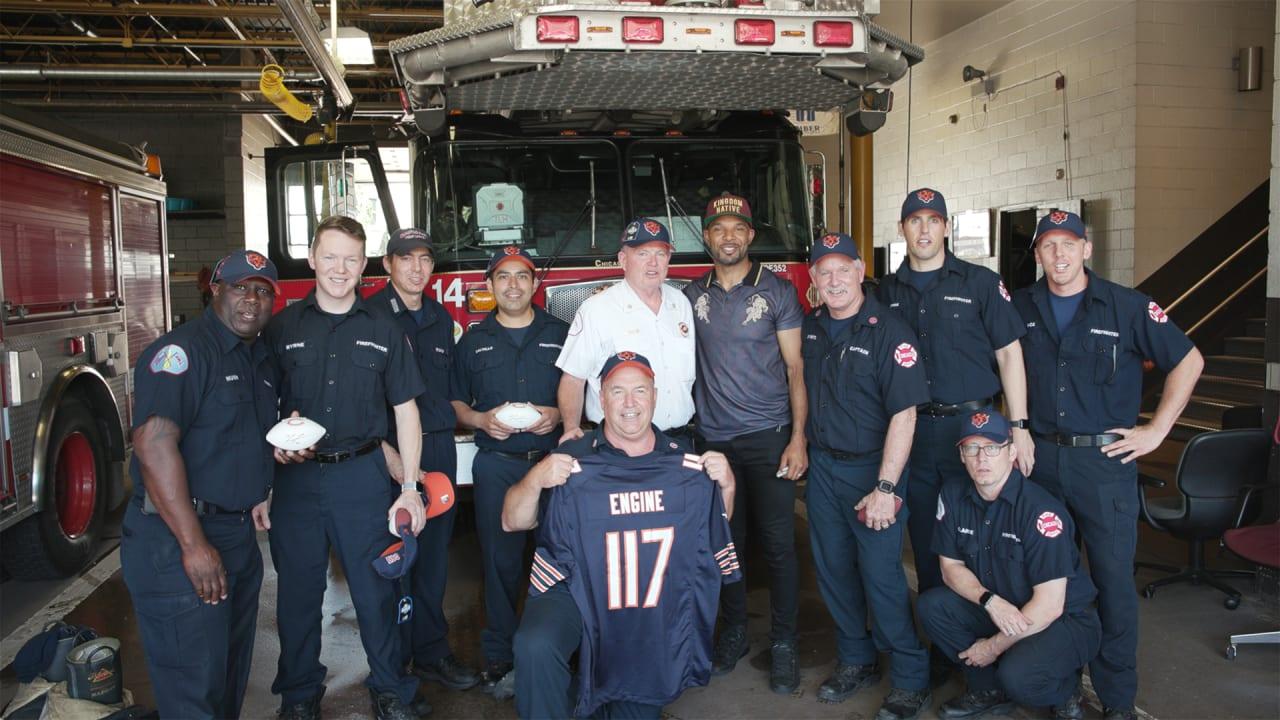 Forte surprises Chicago firehouse