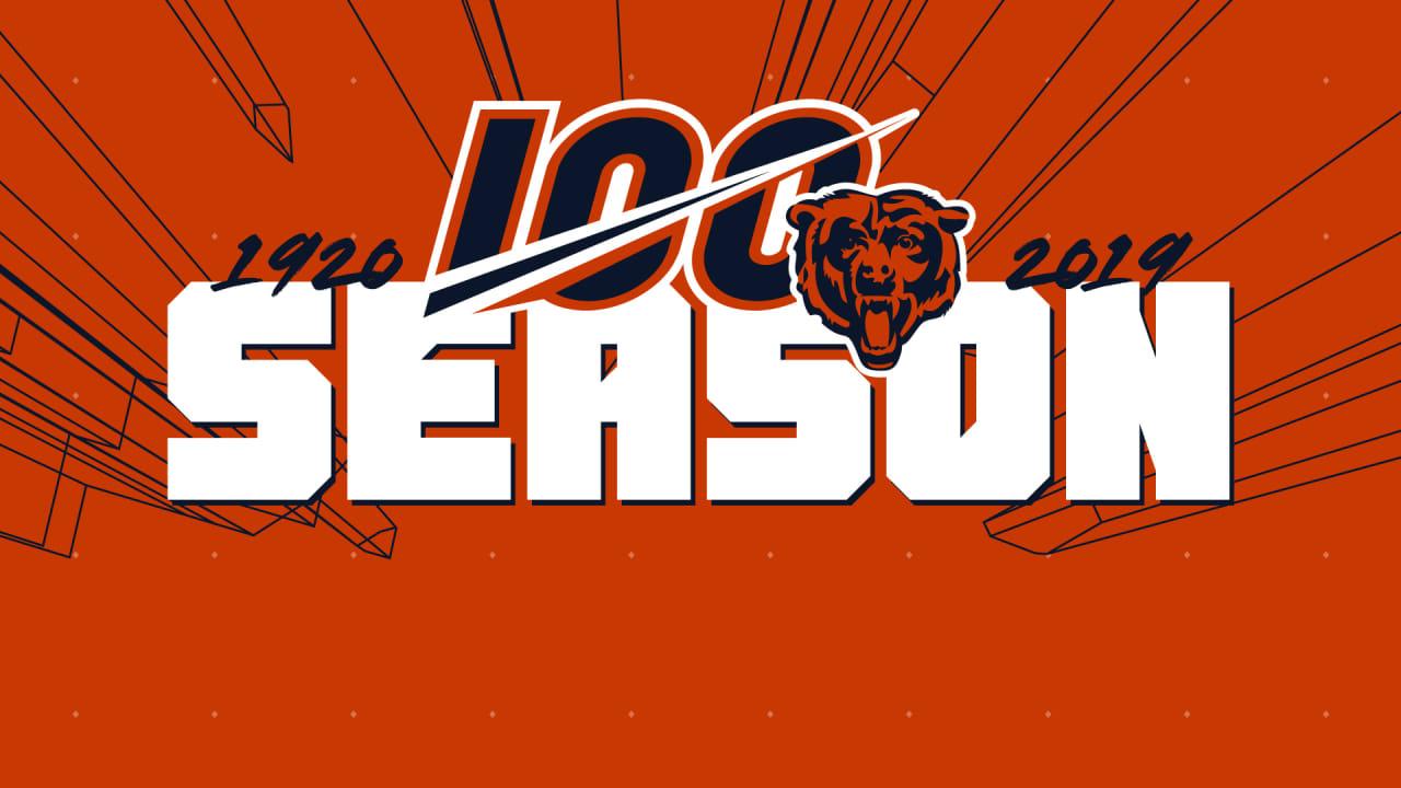 Bears Release 2019 Regular Season Schedule