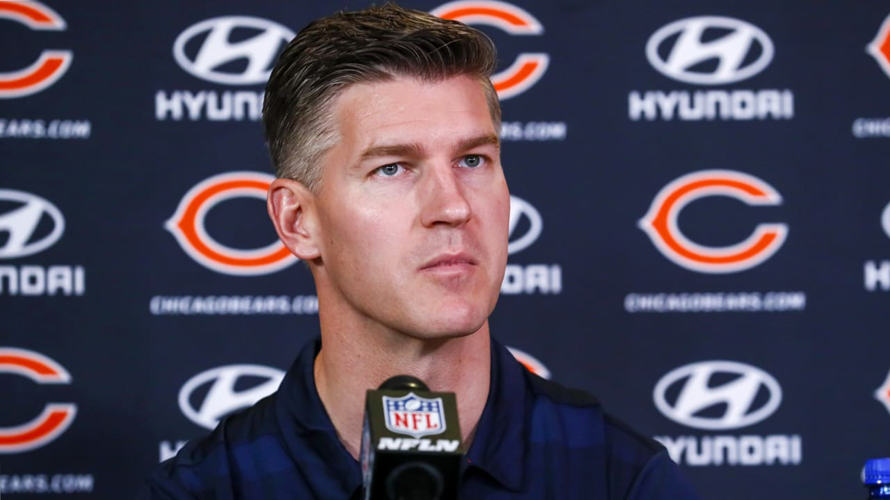 General manager Ryan Pace discusses QB Andy Dalton, WR Allen Robinson II, 2021 salary cap