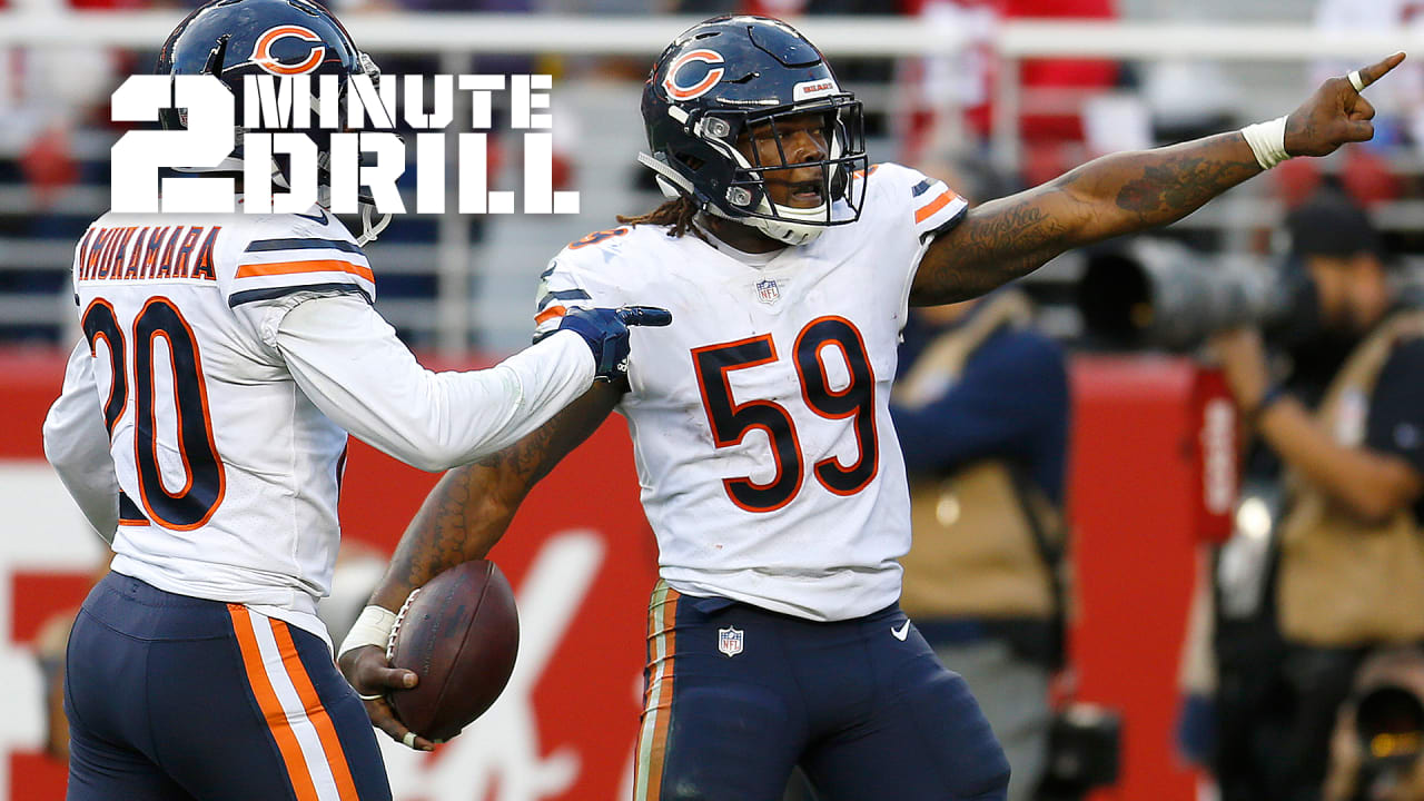 2-Minute Drill  Trevathan delivers key interception 97a1d1313